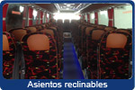 asientos reclinables